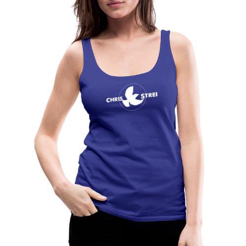 Chris Strei BlackBird Logo - Women's Premium Tank Top
