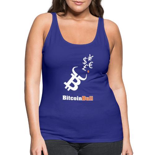 BitcoinBull - Women's Premium Tank Top