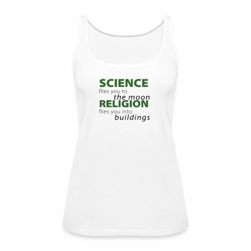 Science, Fly me to the Moon - Women's Premium Tank Top