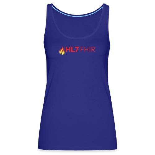 HL7 FHIR Logo - Women's Premium Tank Top
