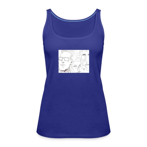 faces onAll - Women's Premium Tank Top