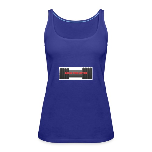 colin the lifter - Women's Premium Tank Top