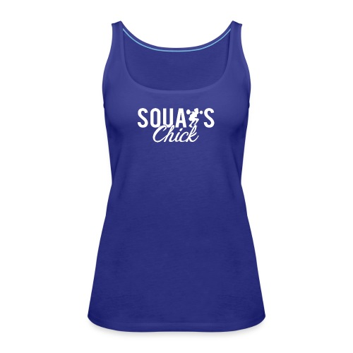 Squats Fitness Chick - Women's Premium Tank Top