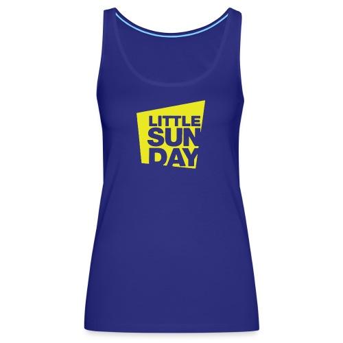 littleSUNDAY Official Logo - Women's Premium Tank Top
