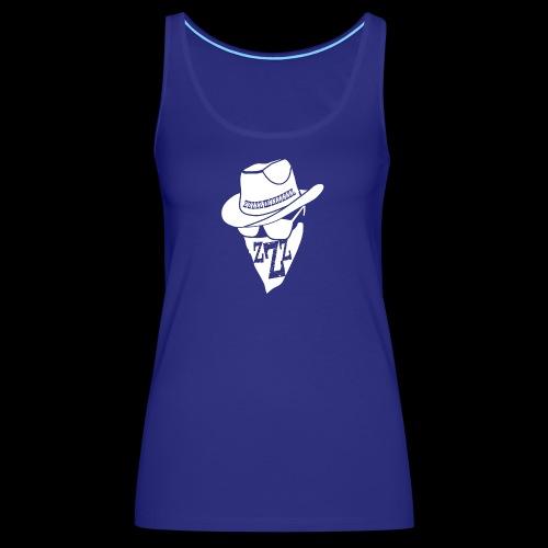 DREAM BANDITS WHITE Large Logo - Women's Premium Tank Top
