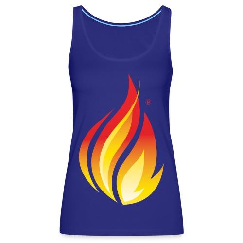 HL7 FHIR Flame Logo - Women's Premium Tank Top