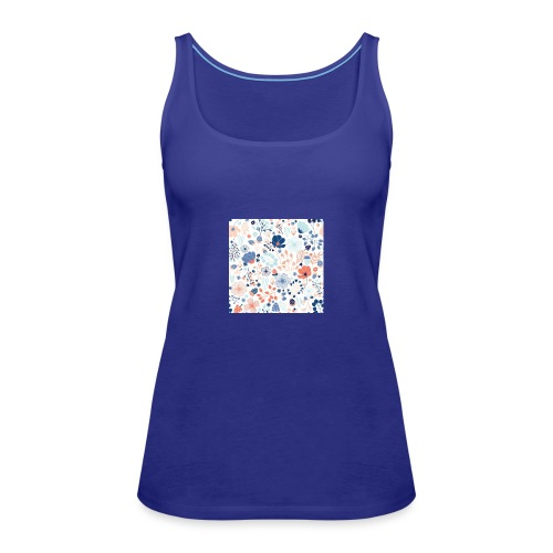 flowers - Women's Premium Tank Top