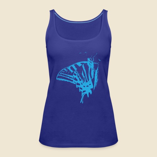 Blue Butterfly - Women's Premium Tank Top