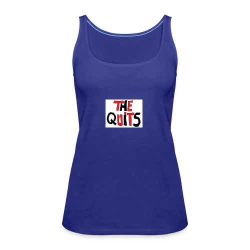 quits logo - Women's Premium Tank Top