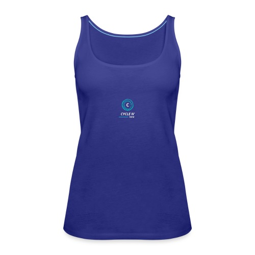 The Cycle Line - Women's Premium Tank Top