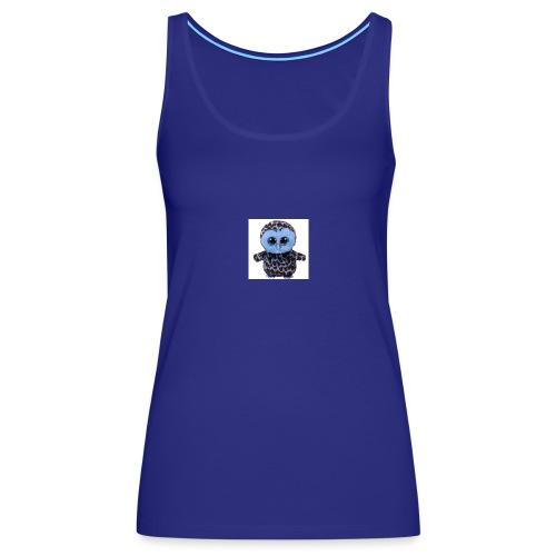 blue_hootie - Women's Premium Tank Top