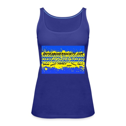 BUMPERSTICKER SPLATTER - Women's Premium Tank Top