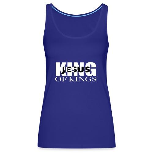 KING of Kings JESUS - Women's Premium Tank Top
