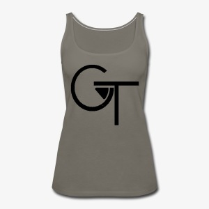 Plain Logo - Women's Premium Tank Top