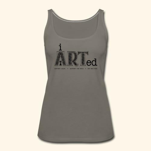 i arted (Irish theme) - Women's Premium Tank Top
