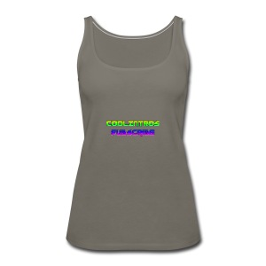 Cool Intros With Subscribe - Women's Premium Tank Top