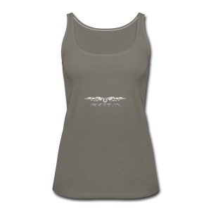 agla_t_shirt_bw - Women's Premium Tank Top