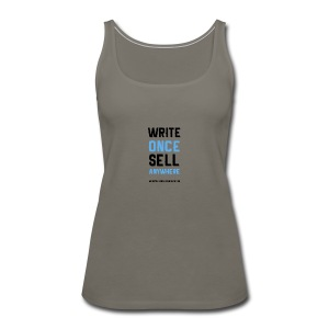 Write Once Sell Anywhere - Women's Premium Tank Top