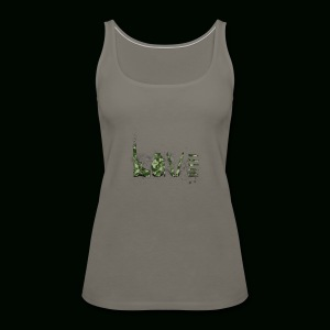 Love and War - Army - Women's Premium Tank Top