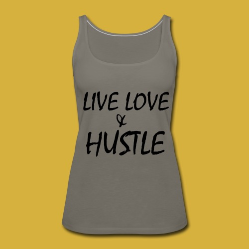 LLH black 01 - Women's Premium Tank Top