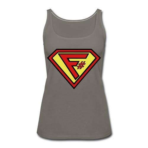 F# Hero Woman - Women's Premium Tank Top