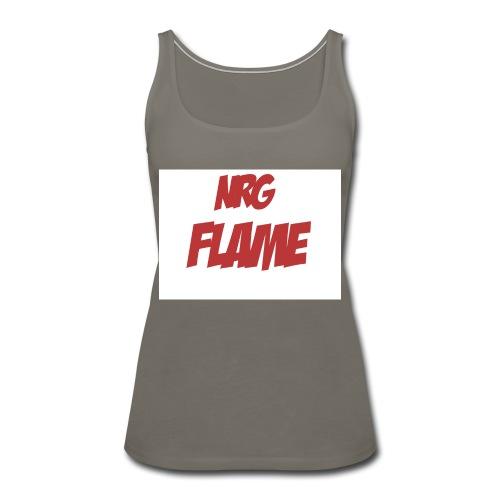 FLAME - Women's Premium Tank Top