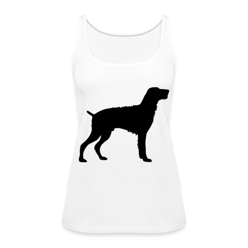 German Wirehaired Pointer - Women's Premium Tank Top