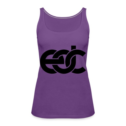 EDC Electric Daisy Carnival Fan Festival Design - Women's Premium Tank Top