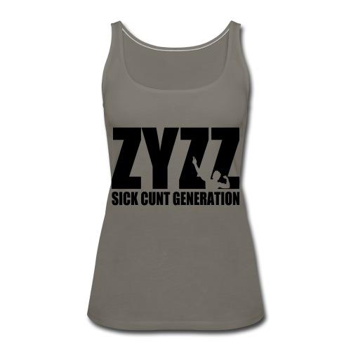 Zyzz Sickkunt Generation - Women's Premium Tank Top