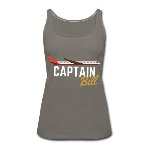 Captain Bill Avaition products - Women's Premium Tank Top