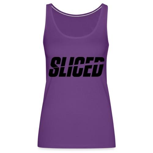 SLICED - Women's Premium Tank Top