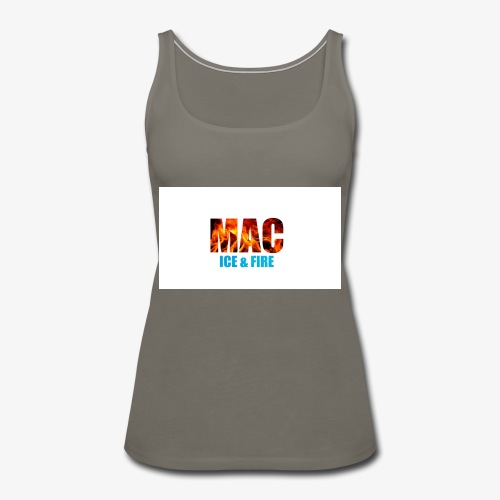 ICE FIRE - Women's Premium Tank Top