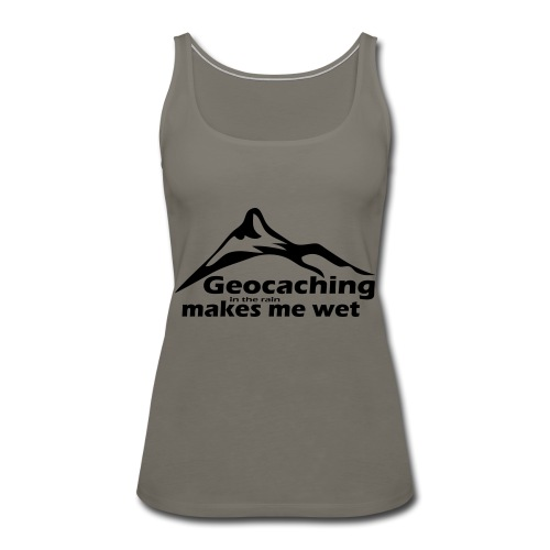 Wet Geocaching - Women's Premium Tank Top