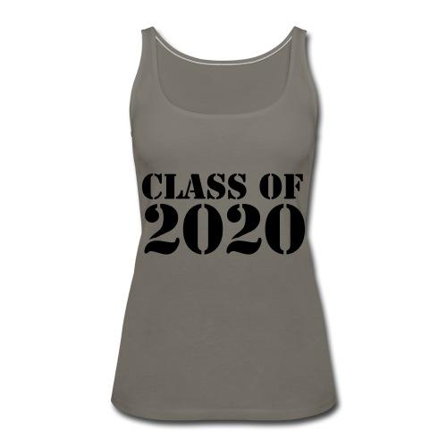 Class of 2020 - Women's Premium Tank Top
