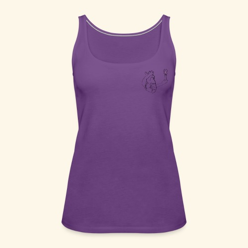 Wounded Heart - Women's Premium Tank Top