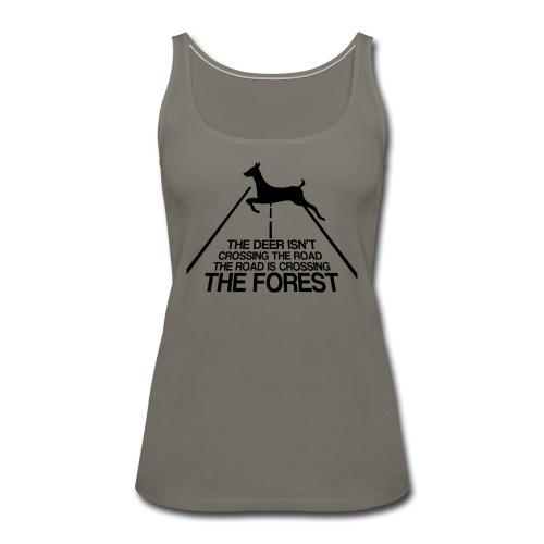 Deer's forest - Women's Premium Tank Top