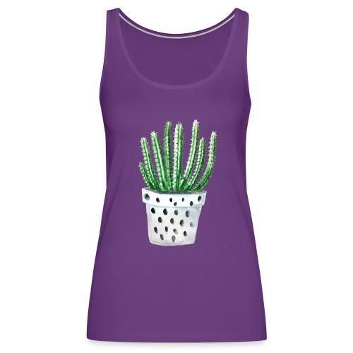 Cactus - Women's Premium Tank Top