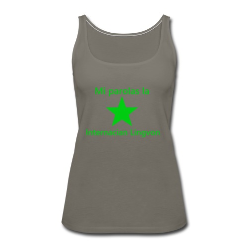 I speak the international language - Women's Premium Tank Top