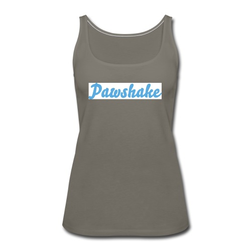 High Res Pawshake Logo - Women's Premium Tank Top