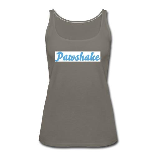 High Res Pawshake Logo - Women's Premium Tank Top