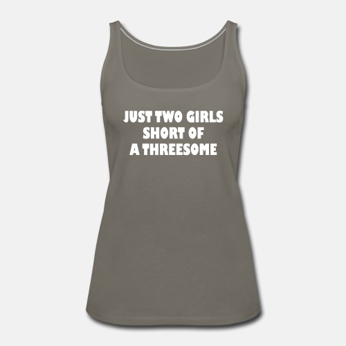 Just two girls short of a threesome ats