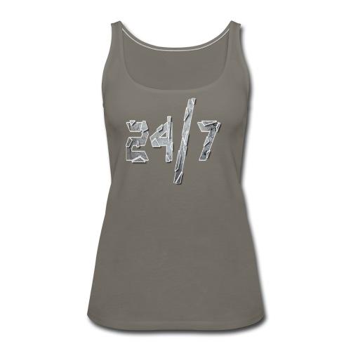 24/7 with ABG - Women's Premium Tank Top