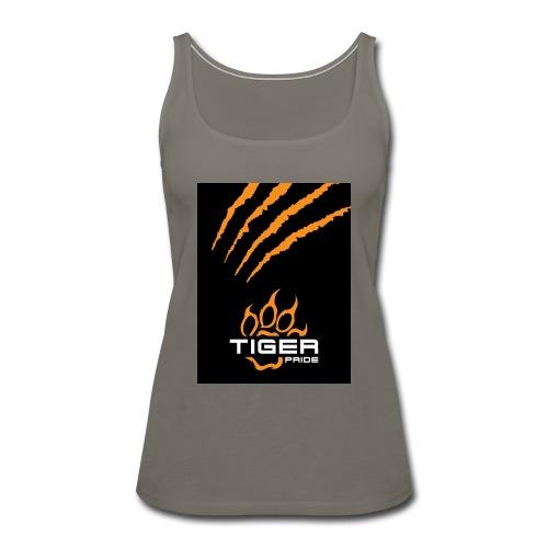 Tiger Pride iPad Case - Women's Premium Tank Top