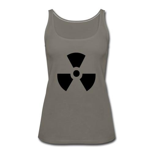 Radiation Symbol - Women's Premium Tank Top