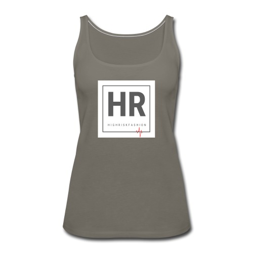 HR - HighRiskFashion Logo Shirt - Women's Premium Tank Top