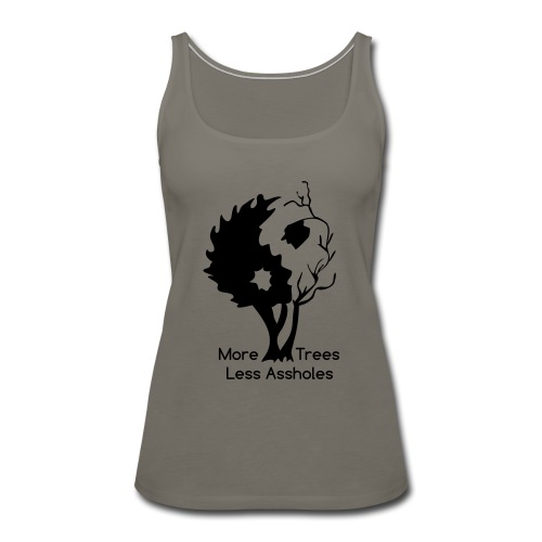 Yin Yang tree MTLA - Women's Premium Tank Top