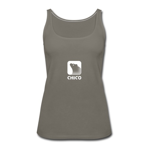 Chico's Logo with Name - Women's Premium Tank Top