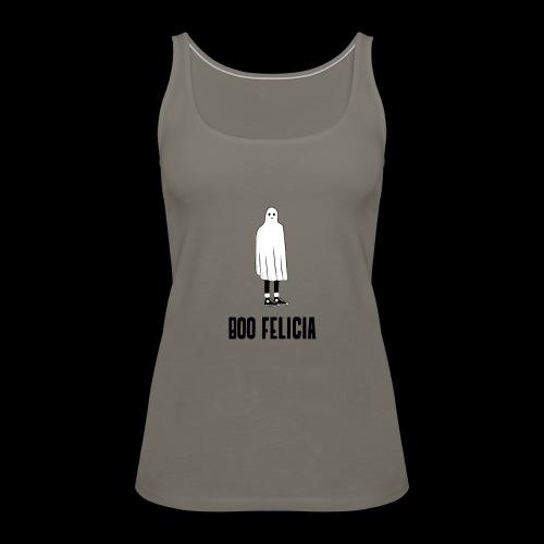 Boo Felicia | Funny Halloween Ghost - Women's Premium Tank Top