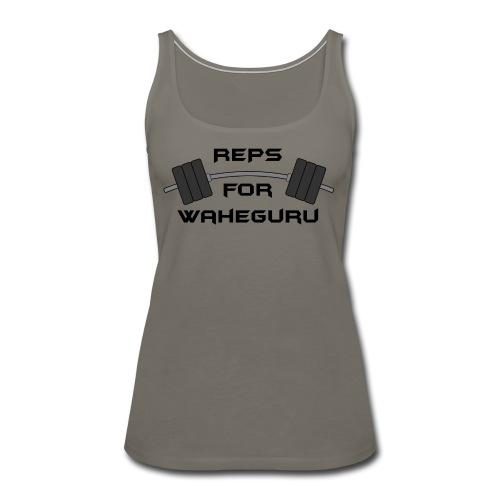 REPS FOR WAHEGURU - Women's Premium Tank Top