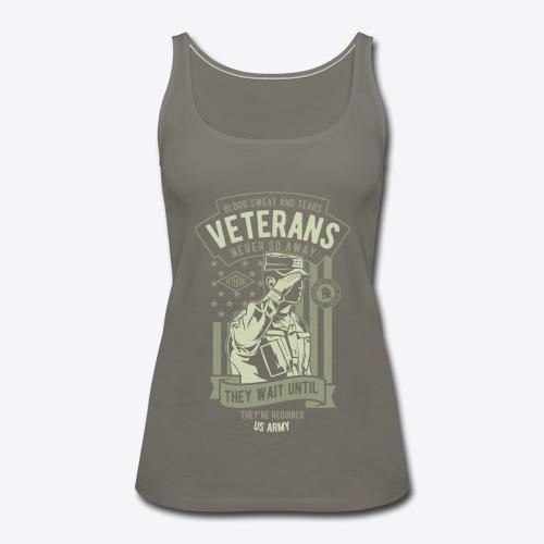 US Army Veterans - Women's Premium Tank Top
